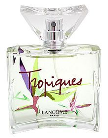 Tropiques Lancome for women Tropiques edt 2006 is based on the original Tropiques created by Armand Petitjean in 1935. The original fragrance was part of a selection of five perfumes presented at the Brussels Exhibition that year to mark the debut of the Lancôme brand. The 2006 version is not a re-edition, but rather a re-interpretation of the classic scent.