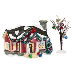 "Department 56: Products - ""The Ornament House"" - View Lighted Buildings"