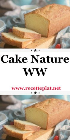 WW nature cake - A delicious light weight watchers nature cake for breakfast or afternoon tea. Ww Desserts, Healthy Breakfast Recipes, Easy Healthy Recipes, Easy Meals, Diabetic Breakfast, Egg Recipes, Diabetic Recipes, Weight Watchers Kuchen, Nature Cake