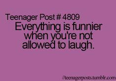 True. Especially at night, when everyones asleep.