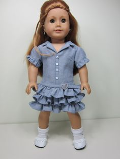 American Girl doll clothes  Spring time Faraway by JazzyDollDuds, $20.00