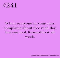 This was sooo many in my class this year!