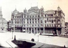 Budapest, Ferenciek tere 2. Ferenc József osztrák császár és magyar király budapesti bérpalotája, mely az 1900-as évek legelején épült. Ma is gyönyörű.