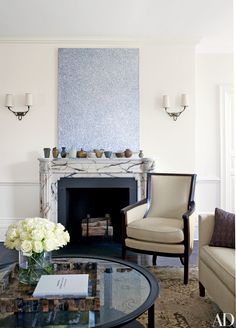 Michael J. Fox and Tracy Pollan's Refined Manhattan Home Photos | Architectural Digest