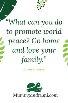 Family and Peace Indian Parenting, Love Your Family, Mother Teresa, World Peace, Reading, Reading Books