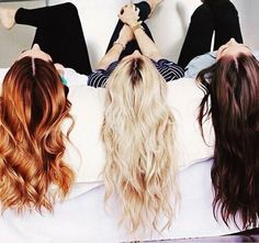 Ways To Make Your Hair Grow - Barefoot Blonde If you changed the blonde to brown/blonde hair.that is exactly me and my BFF'S! ☺️If you changed the blonde to brown/blonde hair.that is exactly me and my BFF'S! Kreative Portraits, Coiffure Hair, Make Hair Grow, Barefoot Blonde, Half Up Half Down Hair, About Hair, Down Hairstyles, Layered Hairstyles, Hairstyles 2018