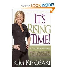 I enjoy Kim and her husband's books (ie Rich Dad, Poor Dad), very inspiring