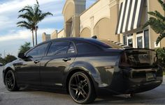 Another Florida-based Chevy, a blacked-out Malibu.