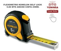 Flexometro Kolemon Self Lock Teminsa Online