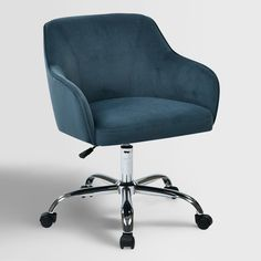 Navy Blue Desk Chair -  Check more at http://www.gameintown.com/navy-blue-desk-chair/