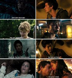 Maze Runner - First and Last words