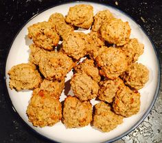 Maple Banana Oatmeal Cookies