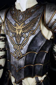 Warrior leather armor/leather helmet/leather body
