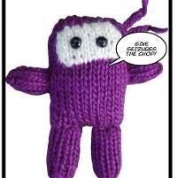 Purple Stitch Project Ninja (knit) - via @Craftsy
