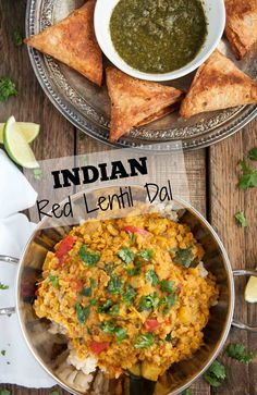 Filled with aromatic spices, lentils never tasted so good! This healthy red lentil dal is inexpensive, quick, nutritious, high in protein, and brimming with flavor. - Feasting Not Fasting