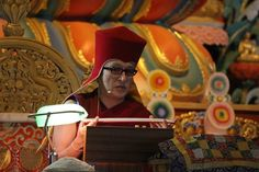 "Praying to the guru ~ Dzongsar Khyentse Rinpoche http://justdharma.com/s/falk2  We think that the guru is only good for giving teachings, that the guru is only good for special things but not good for headaches or other problems. This is not the way to think. For every problem that you have, pray to the guru, receive his blessings and you will be free from it. In one Tantra, it says, ""Years and years of doing meditation on the development or completion stages, or years and years of chanting…"