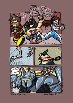 Careful with that hook - Overwatch by FBende