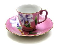 Shafford Fine Bone China Hand Painted // Cup and by SueEllensFlair