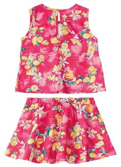 Pink, Two Piece Skirt Set, Rompers, Floral, Skirts, Dresses, Fashion, Baby Clothes Girl, Home
