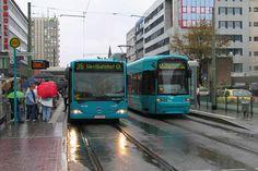 Заплатить за проезд в общественном транспорте Франкфурта (Германия) уже можно с помощью смартфона.