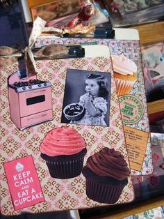 Vendor at Ivy St. Market! I love making these clipboards!