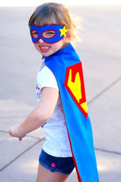 Stupendous Superhero Kids Cape  personalized by prettypaperparty, $30.00