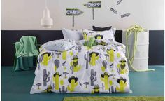 Cactus Cowboys Quilt Cover Set From Kas Kids | Online Australia