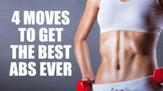 4 Simple Exercises For Super Toned Abs