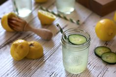 Cucumber Lemon Drop - Picnic Style // HonestlyYUM