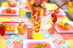 Party Plan: Host a Girls' Fiesta Night! on http://pizzazzerie.com