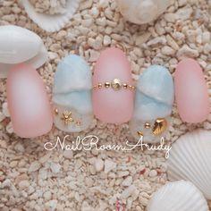 Beach nails - The most beautiful nail designs Beach Nail Art, Beach Nail Designs, Diy Beach Nails, Cruise Nails, Vacation Nails, Love Nails, Pretty Nails, Gel Nail Art, Nail Polish