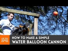 How to make a water balloon cannon - I Like to Make Stuff