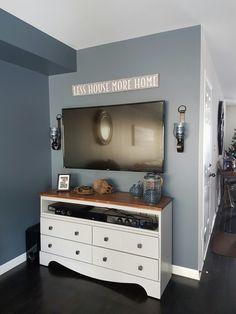 Repurposed Dresser Bathroom Vanity
