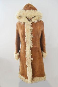 Abbigliamento Misto lana rosso Boho Shearling Faux pelliccia