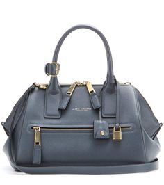 mytheresa.com - Incognito Small Leather Tote ✽ Marc Jacobs : mytheresa - Luxury Fashion for Women / Designer clothing, shoes, bags