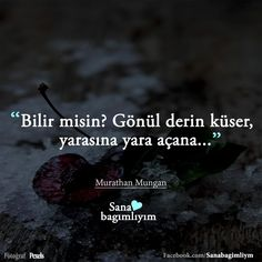 99 yaram war, sende açma 100 yara... English Quotes, Meaningful Words, Karma, Favorite Quotes, Twitter, Passion, Quotes, English Quotations