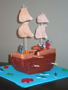 pirate ship cakes - Bing Images