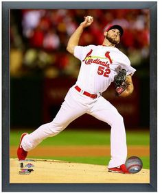 "Michael Wacha St. Louis Cardinals Game 6 of the 2013 NLCS-11"" x 14"" Sports Frame"