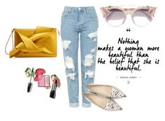 """Untitled #26"" by son9o on Polyvore featuring Topshop, Sophia Webster, N°21 and Jimmy Choo"