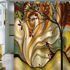 """DENY Designs Home Accessories   Madart Inc. """"Good Morning"""" Shower Curtain"""