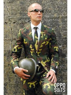 Low wholesale prices on OppoSuits Commando Suit for Men Costumes for men with same day shipping on our 100% guaranteed website. Super Selection!