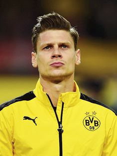 Lukasz Piszczek of Dortmund looks on during the UEFA Europa League quarter final first leg match between Borussia Dortmund and Liverpool at Signal Iduna park on April 2016 in Dortmund, Germany. Get premium, high resolution news photos at Getty Images Stuart Franklin, Signal Iduna, Europa League, Wattpad, Football Players, New Product, Liverpool, That Look, Polo Ralph Lauren