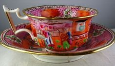 Victorian Tea Sets, Antique Tea Sets, Tea Sets Vintage, Tea Cup Set, Cup And Saucer Set, Tea Cup Saucer, Cuppa Tea, Porcelain Mugs, Vintage China