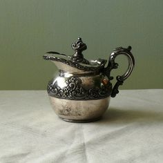 Vintage silver plated creamer by YeOldeEngland on Etsy, $14.00
