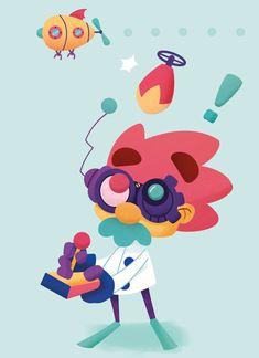 Panique au Labo | alxfactory.com Princess Peach, Illustration, Fictional Characters, Art, Art Background, Kunst, Illustrations, Performing Arts, Fantasy Characters