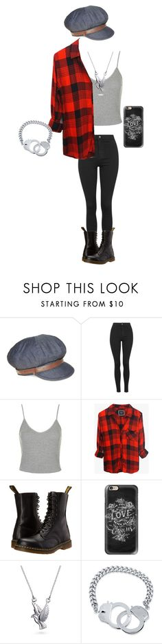 """Untitled #343"" by hellokitty-780 on Polyvore featuring Nine West, Topshop, Rails, Dr. Martens, Casetify, Bling Jewelry and BERRICLE"