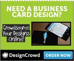Business Stuff: Need a business card design?