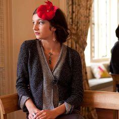 Susan Holton Knitwear stripy front wool-silk soft jacket charcoal.jpg