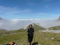 Over the clouds, in Naranjo de Bulnes, Picos de Europa (Spain). Very nice place. 2000 meters above sea level. # travel #cantabria #asturias #spain