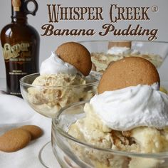 Whisper Creek Banana Pudding — Whisper Creek® Tennessee Sipping Cream®